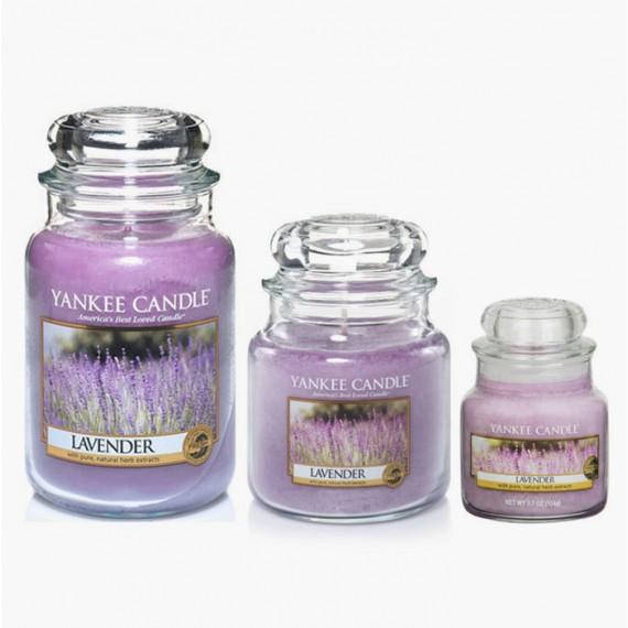 Lavender Bougies Jarres
