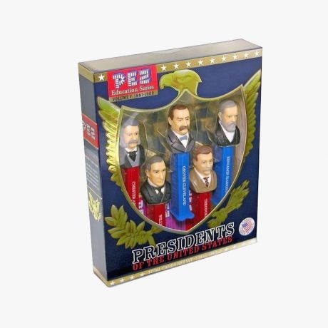PEZ Presidents of the United States Volume 5 Box Collector
