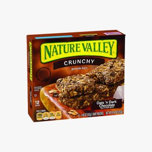 Oats'N Dark Chocolate Granola Bars Nature Valley