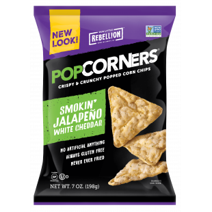 Jalapeno Cheddar Rebellion Pop Corners