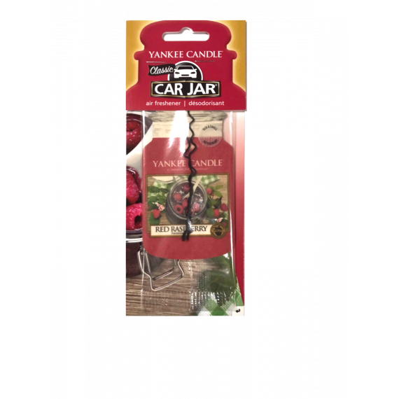 Red Raspberry Classic Car Jar