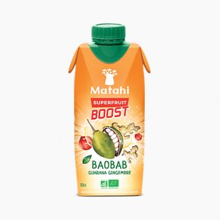 Baobab Guarana Gingembre Superfruit Boost MATAHI