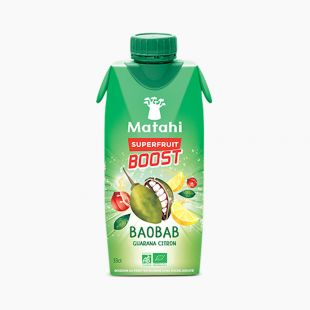 Baobab Guarana Citron Superfruit Boost MATAHI