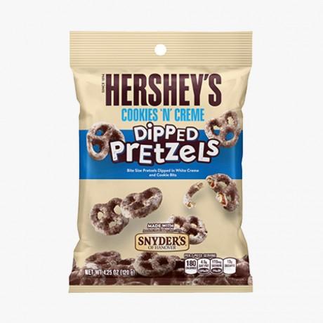 Dipped Pretzel Cookies n creme