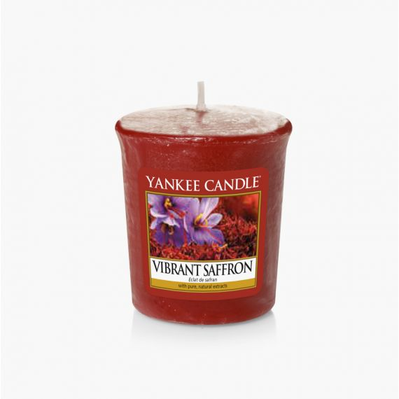 Collection Fall In Love Yankee Candle Vibrant Saffron Votive