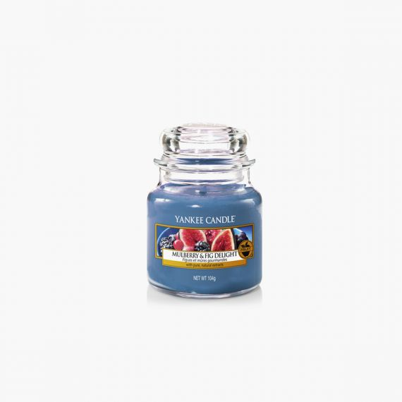 Yankee Candle Mulberry & Fig Delight petite bougie jarre Collection Fall In Love
