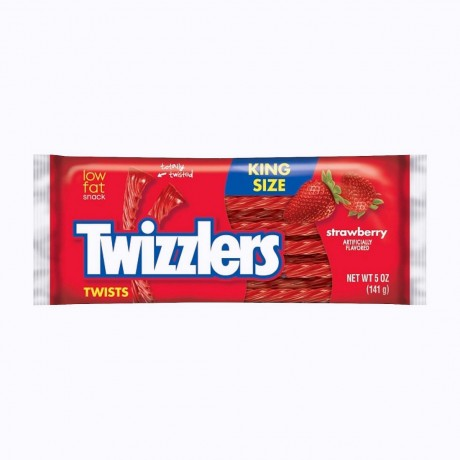 Twizzlers Twists Fraise KingSize