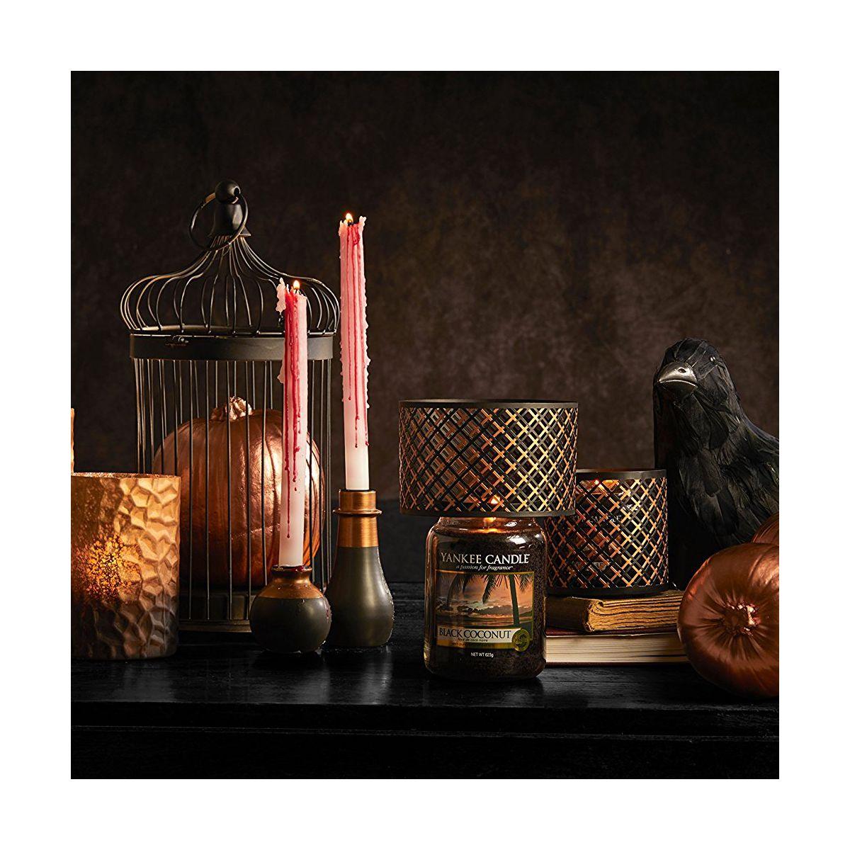 yankee candle halloween abat jour bougies jarres. Black Bedroom Furniture Sets. Home Design Ideas