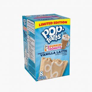 Pop Tarts Frosted Vanilla Latte Dunkin'Donut