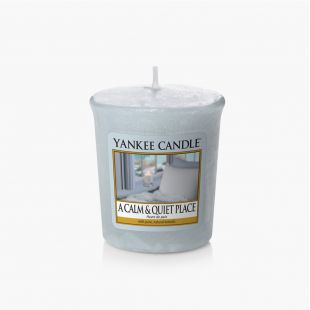 A Calm & Quiet Place Votive