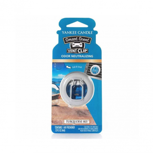 Turquoise Sky Smart Scent Vent Clip