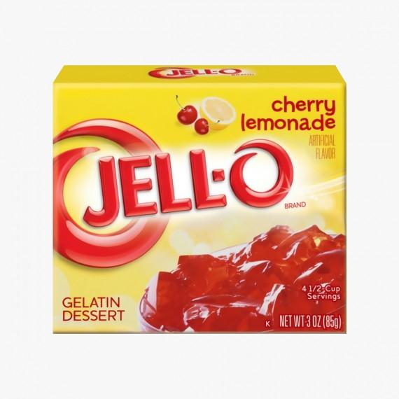 Jell-O cherry lemonade