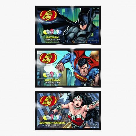 Jelly Belly super héros batman wonder woman superman