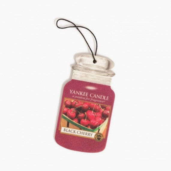 yankee candle Désodorisant Car Jar Classic Fruit Black Cherry