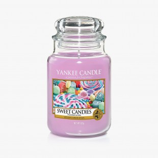 Yankee Candle Sweet Candies Grande Bougie Jarre