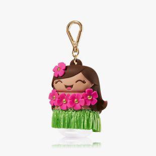 Hula Girl Pocketbac Holder