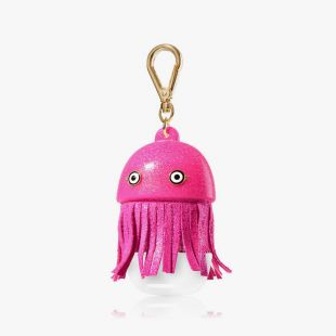 Pink Jelly Fish Pocketbac Holder