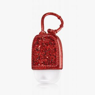 Red Glitter Pocketbac Holder