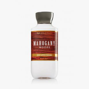 Mahogany Woods For Men Body Lotion