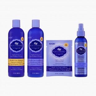 Hask Blue Camomile & Argan Oil - Gamme complète