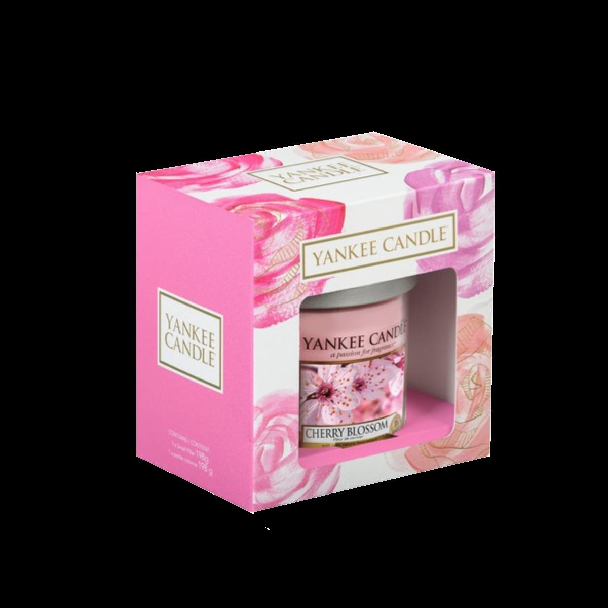 yankee candle | coffret cadeau | cherry blossom - bougie parfumée