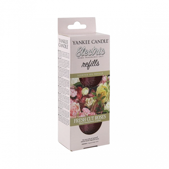 Yankee Candle Fresh Cut Roses Recharge prise murale