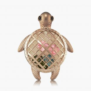 Gemstone Sea Turtle Car Scentportable Holder