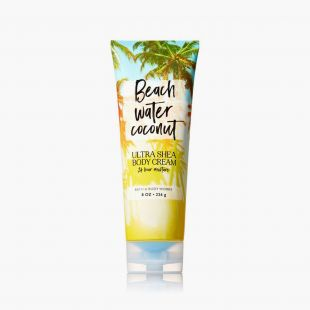Beach Water Coconut Ultra Shea Body Cream
