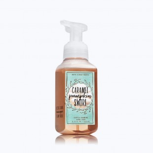 Bath & Body Works Caramel Pumpkin Swirl Savon doux moussant