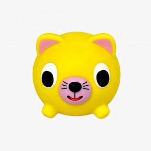 Jabber ball cat