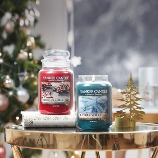 petit photophore sapin winter trees Noel Yankee Candle Holiday sparkle