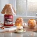 Photophore Glam mosaique Noel Yankee Candle Holiday sparkle