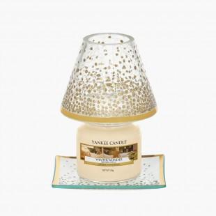 Petit abat-jour et plateau Holiday Sparkle Noel Yankee Candle Holiday sparkle