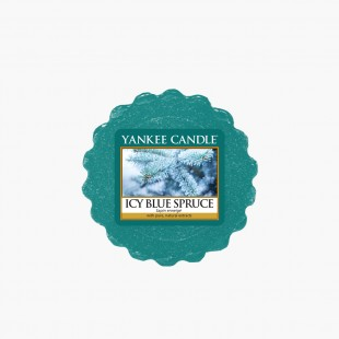 Icy blue spruce Tartelette Sparkle Holiday Noel Yankee Candle