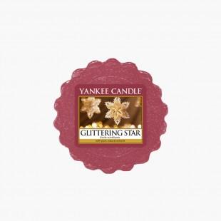 Glittering star Tartelette noel yankee candle sparkle holiday
