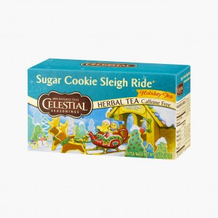 Tisane Sugar Cookie sleigh Celestial Seasoning