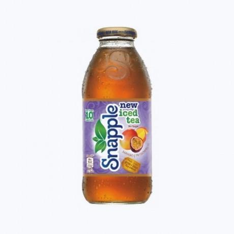 Snapple Mango & Passionfruit Iced Tea Sans Sucre