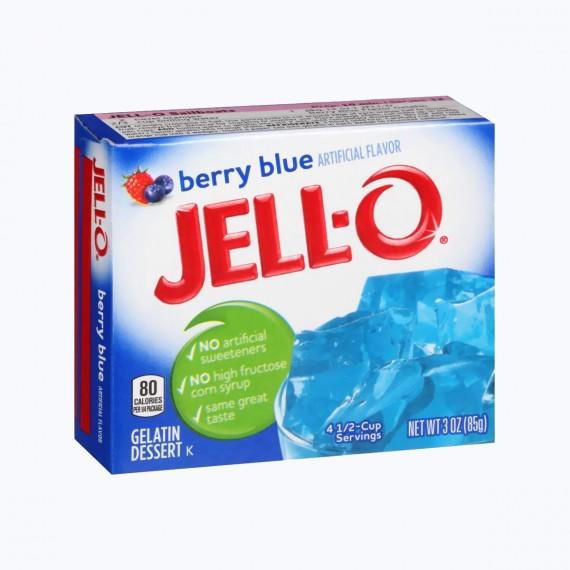 Jell-O berry blue