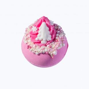 Boule de bain Noël Pink christmas