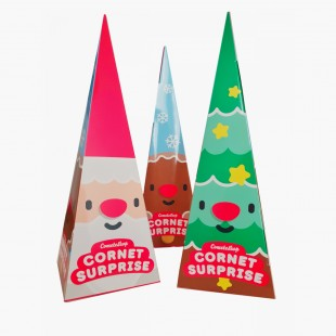 Cornet Surprise de Noël By Cometeshop