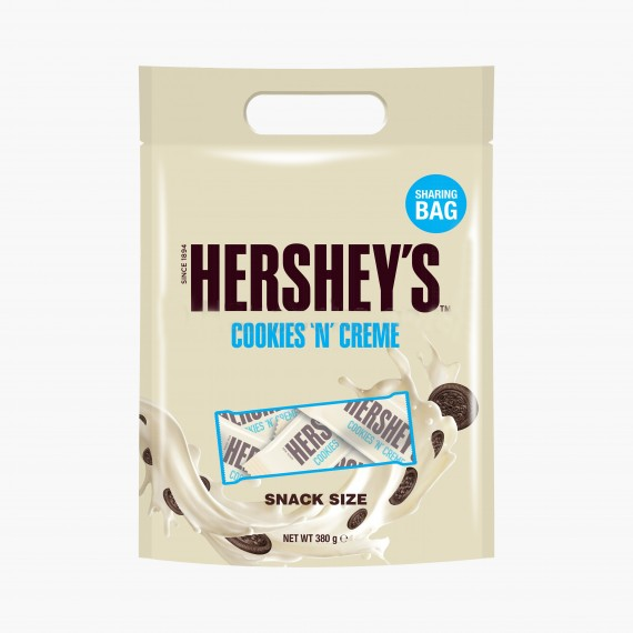 Hershey's Cookies n' Creme Snack Size 380g