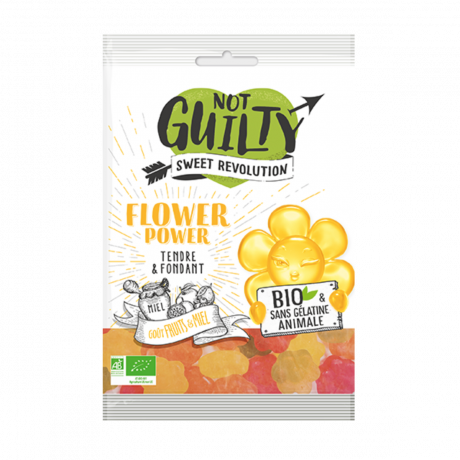 Bonbons bio flower power - Not Guilty