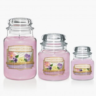 Floral Candy Bougies Jarres