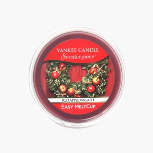 Yankee Candle Red Apple Wreath Easy MeltCup