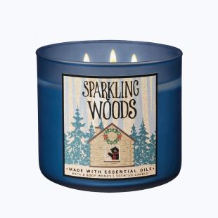 Sparkling Woods Bougie 3 Mèches