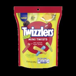 Twizzlers Mini Twists Sour