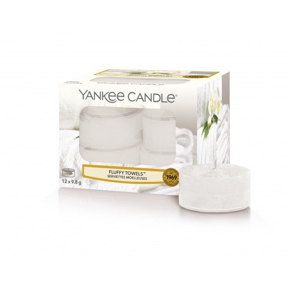 Yankee Candle Fluffy towels Lumignons