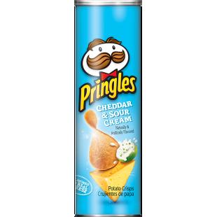 PRINGLES CHEDDAR SOUR CREAM 158 GR