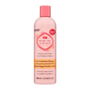 Hask Rose Oil & Peach Shampoing Protection Couleur