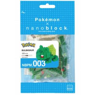 NanoBlock Pokemon - Bulbizarre